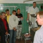 Rückblick Stammtisch bei Fleischerei Münch Juli 2005