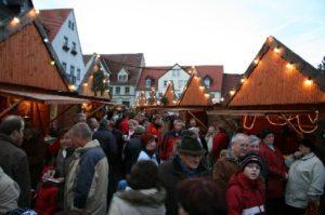 Alle Jahre wieder in der Weihnachtszeit – der Lommatzscher Weihnachtsmarkt 2008