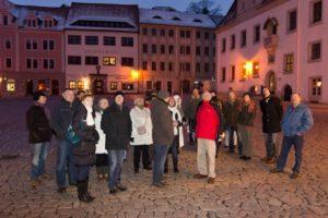 Neujahrestreffen Historischer Stadtrundgang in Meissen am 19.01.2013