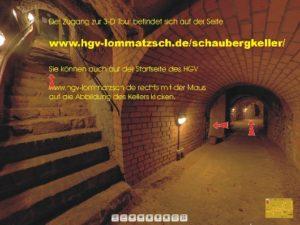 Virtuelle Tour durch Lommatzscher Schaubergkelleranlage 20.12.2012